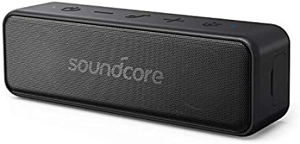 Soundcore Motion B Portable Bluetooth Speaker by Anker, with 12W Stereo Sound, IPX7 Waterproof, and 12+ Hr Longer-Lasting Playtime, Soundcore Speaker Upgraded Edition for Home and Outdoors