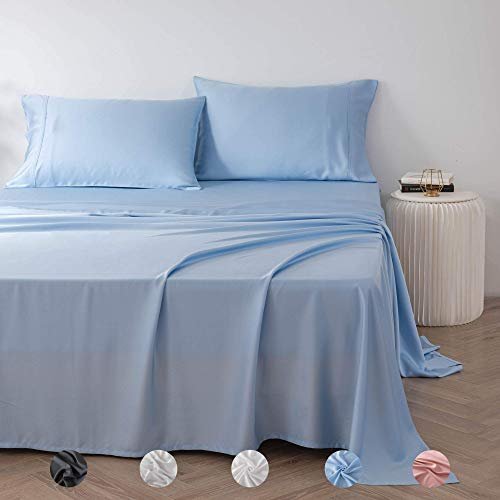 Olive + Crate Eucalyptus Sheets with Cooling Pillow Cases