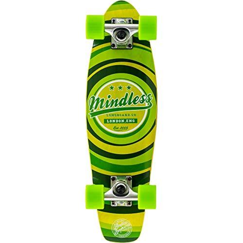 Mindless Longboards Mindless Stained Daily II, Skateboard Unisex da Adulto, Unisex Adulto, ML5160, Verde (Green), Taglia Unica