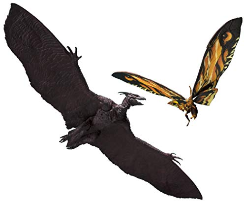 TAMASHII NATIONS Bandai S.H. MonsterArts Mothra (2019) & Rodan (2019) Set Godzilla: King of The Monsters, Multi (BAS57446)