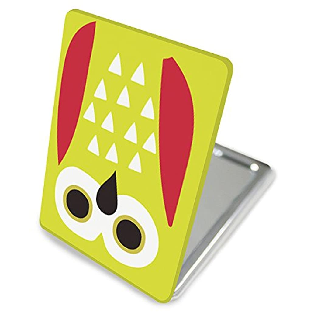 引用バンクオデュッセウス(カリーナ) Carine 手鏡 コンパクトミラー ハンドミラー 拡大鏡付 持ち歩きに便利 かわいい kgm021(B) 動物 アニマル デザイン 梟 オウル owl
