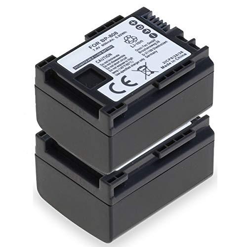 subtel 2X Batería Compatible con Canon XA10 HG10 HG20 VIXIA HF G20 G10 HF20 S100 S200...