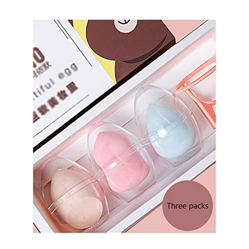 Makeup Sponge La poudre cosmétique de bouffée d'éponge de maquillage de base de maquillage composent l'outil facial de beauté de contour Makeup Sponge (Color : A)