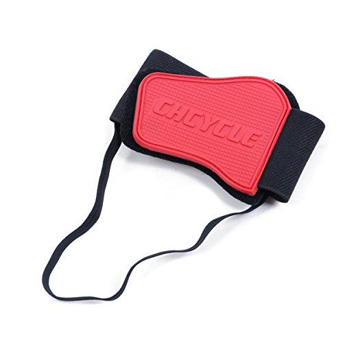 Madbike Accesorios de Cambio de Engranaje para Zapatos Botas de Motocicleta Protector (Red)