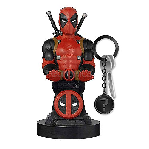 yvolve Deadpool - Wade - Cable Guy | Set inkl. Schlüsselanhänger
