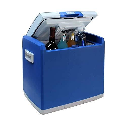 QJL_ANA M_LRSSK Nevera Coche eléctrico más Fresco y más Caliente for el Coche y el hogar 30L Coche Frigorífico manija Refrigerador portátil for Coche (Color : Car and Home)