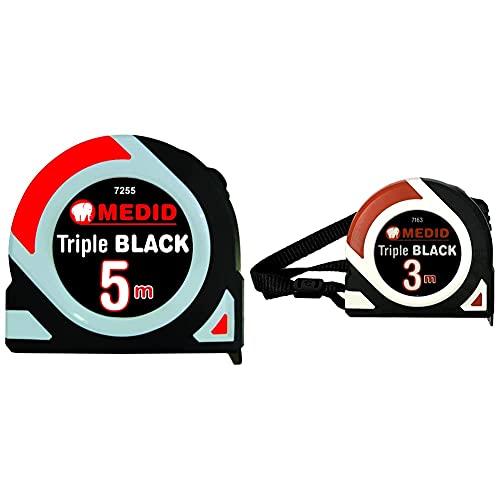 Medid 7255 Flexometro Triple Black + 7163 Flexometro Triple Black