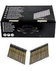 DeWalt DNW28R50E 34 graden nagel (voor accu-nagels, D-kop-nagels, draadgebonden 2,8 x 50 mm ringschacht, 2200 stuks