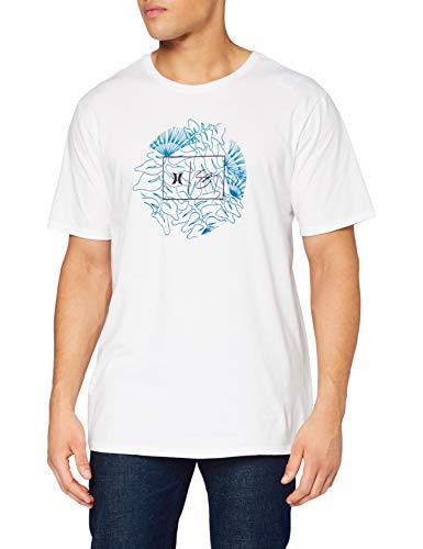 Pepe Jeans M Sigzane Wailehua S/S T-Shirt, White, XXL Mens
