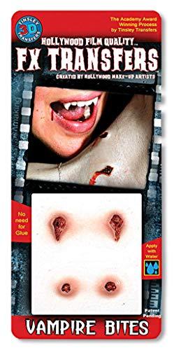 Horror-Shop Transfert d'effets 3D Tattoo Vampire Bite