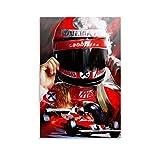 rongtao Niki Lauda F1 Poster, dekoratives Gemälde,