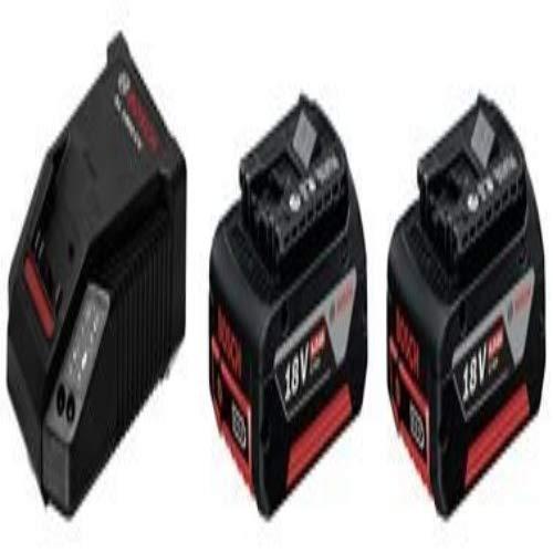 Bosch Professional Akku-Starter-Set 2 x GBA 18 V 5,0 Ah M-C plus AL 1860 CV Schnellladegerät, 1 Stück, 1600A002TD
