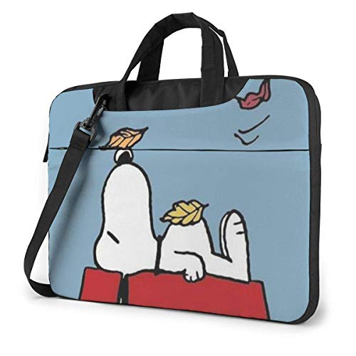 Se Acerca el otoño de Viajes de Negocios de 15.6 ″ SNO-opy Laptop Notebook PC Maletín de Hombro Bolsa de Mensajero Funda