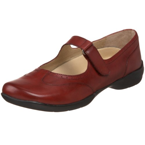 Drew Shoe Women's Isabel Mary Jane,Red Leather,6 WW US