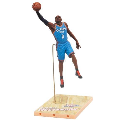 NBA Oklahoma City Thunder McFarlane 2012 Serie 21 Russell Westbrook Actionfigur