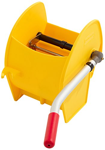 Rubbermaid Commercial Products R050297 - Escurridor de rodillo, amarillo
