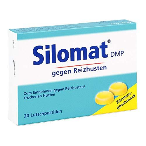 Silomat DMP Lutschpastillen Zitronen-Geschmack, 20 St. Tabletten
