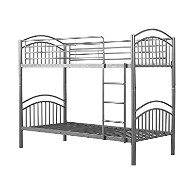 Panana Strong Metal Bunk Beds 3FT Single Metal Bunk Beds Frame for Children