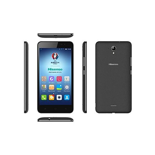 TELEFONO Libre HISENSE F20 Black 5 5HD 4G Quad