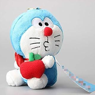 Juguete de Peluche 13 Cm Anime Doraemon Plush Llavero Colgante Bolsa De Coche Llavero Doraemon Cat Peluches Muñeca Peluche Juguetes De Peluche Mujeres Niños Regalo