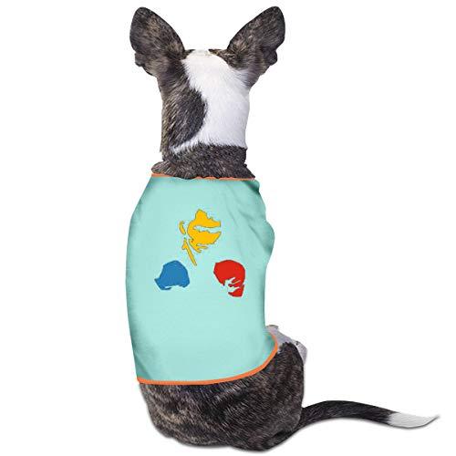 Jiaojiaozhe Manny Pacquiao Pacman Huisdier Service Huisdier Kleding Grappige Hond Kat Kostuum Tshirt Zwart