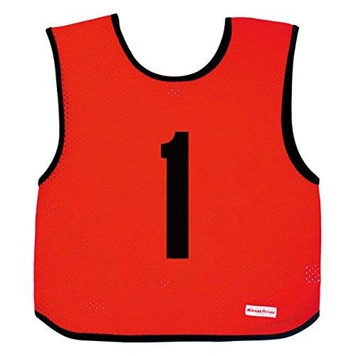 ミカサ(MIKASA) ゲームジャケット ジュニアサイズ レッド