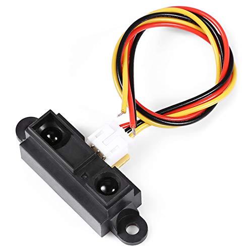 Luoshan Sensor Inteligente de evasión de obstáculos IR Smart for Arduino, Longitud del Cable: 20,5 cm