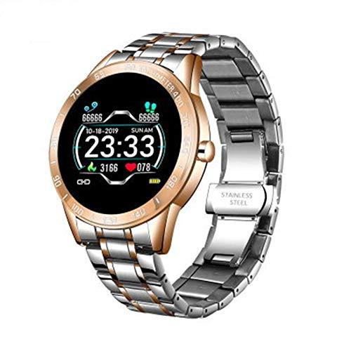 FZXL Smart Watch Watch Bluetooth Llame A Múltiples Marcos IP67 Pantalla HD Impermeable,A