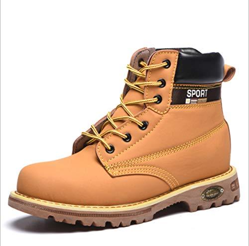 AZLLY veiligheidsschoenen voor heren, wandelschoenen, hoge hoogte, lekbestendig, slijtvast, lichte werkschoenen, ideaal voor dagelijks gebruik
