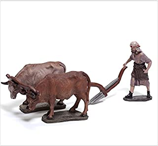Triciclo Editores Belén Delprado J.L.Mayo - Labrador con Bueyes - Serie 11 cms BEL949