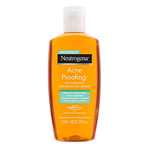Tônico sem álcool Acne Proof, Neutrogena, 200ml