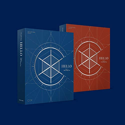 CIX 2nd EP Album [Hello] Chapter 2. Hello, Strange Place [Hello ver.+Strange Place ver. Set] - 2CD, 2Photobook, 2Folded Poster, Others with Extra Sticker Sets, Extra Photocards