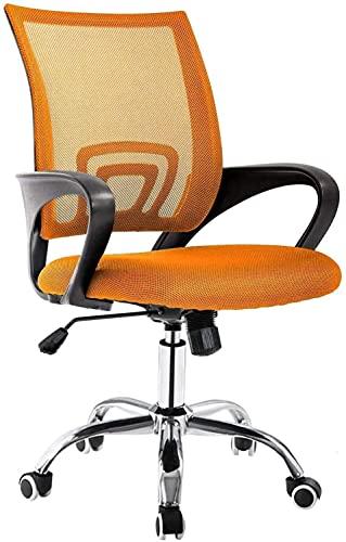 WSDSX Mobiliario Silla ergonómica de Escritorio para computadora para Oficina y Juegos con Respaldo y Soporte Lumbar