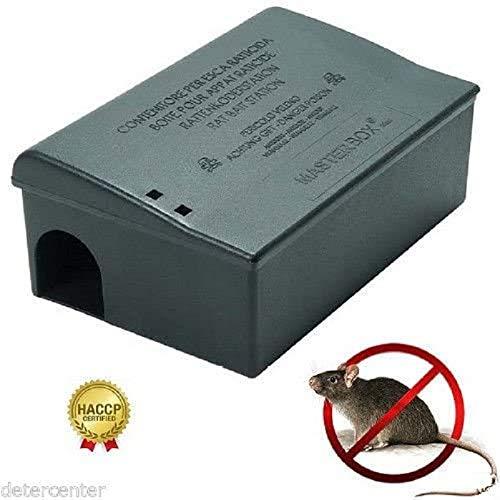 test 12 schwarze Masterbox Maxi Köderfallen mit Schlüsseln 24,5 x 16 x 10 cm Deutschland