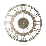 Arti & Mestieri Koros 90 - Orologio da Parete di Design 100% Made in Italy - in Ferro, Diametro 90 cm - Bronzo