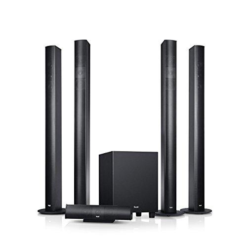 Teufel Columa 300 Easy 5.1-Set L Schwarz Heimkino Lautsprecher 5.1 Soundanlage Kino Raumklang Surround Subwoofer Movie High-End HiFi Speaker