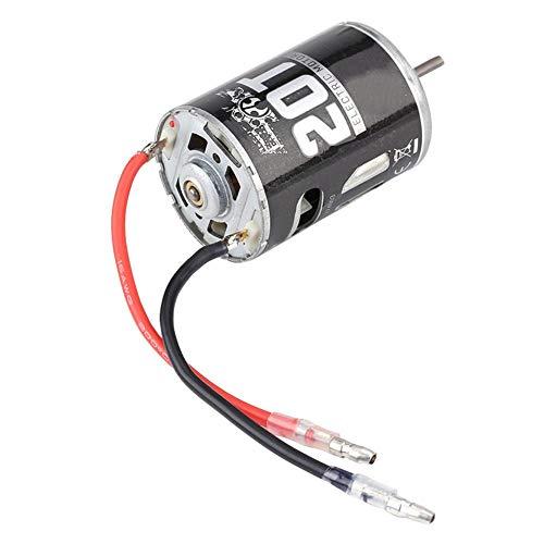 Dilwe RC Metallmotor, RC Modell Zubehörteile Metallteile 540 Motor für 1:10 ferngesteuertes Auto(20T)
