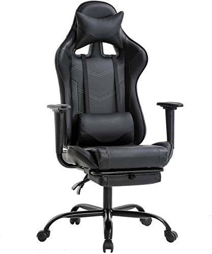 Gaming Chair PC Computer Game Chair Office Chair Desk Chair Lumbar Support...