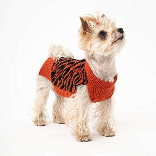 Gestrickter Hundepullover aus Schurwolle | Hundepulli | Hundemantel | Tierjacken und Pullover | Model Zoo| Dackel Pulli | Made in Bayern