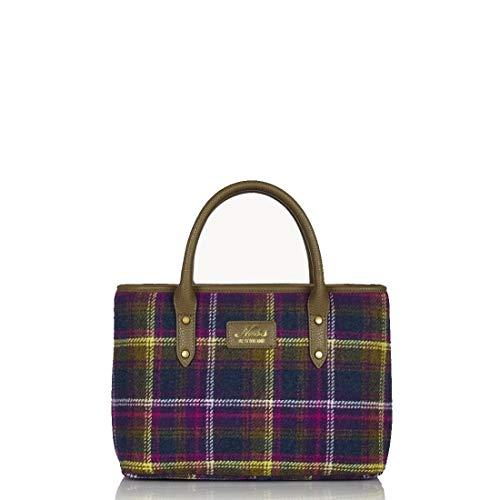 Ness Damen Handtasche, Tweed, mehrfarbig, Old Town Classic - Größe: One Size
