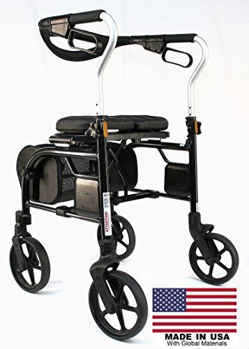 Evolution Trillium Lightweight Tall Rollator Walker
