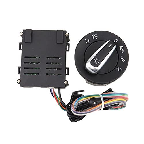 Módulo de control del interruptor de la perilla del sensor de la luz delantera automática automática del automóvil para para por VOLKSWAGEN Para Golf 4 Mk4 para Jetta Mk4 para Passat B5 para Balo Bora