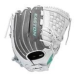 "EASTON FUNDAMENTAL Fastpitch Softball Glove, 12.5"", RHT, Outfield/Pitcher Pattern, Woven Web, FMFP125"