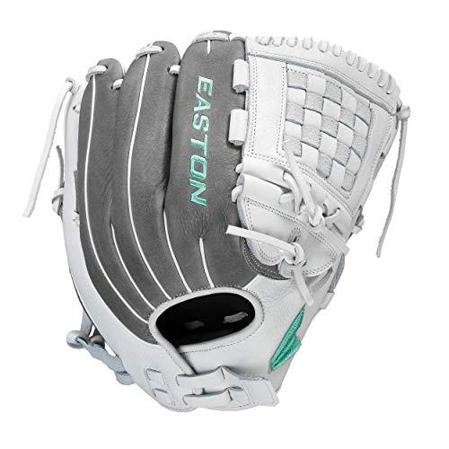 "Easton Fundamental Fastpitch Softball Glove, 33"", RHT, Catcher's Mitt, H Web, FMFP233, Multicolor, Medium"