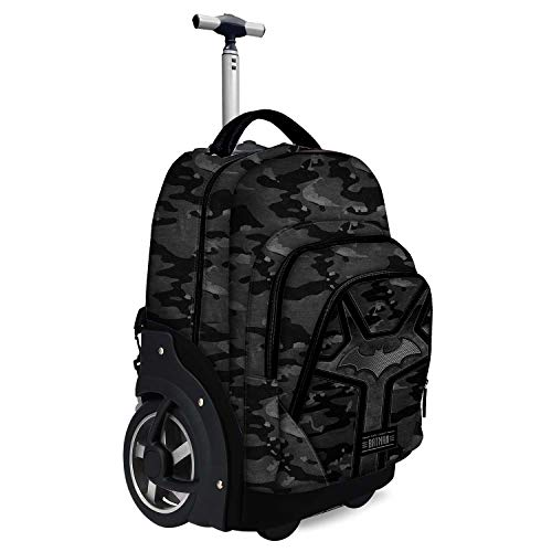 Karactermania Batman Fear: Mochila Trolley Travel GTX  Negro