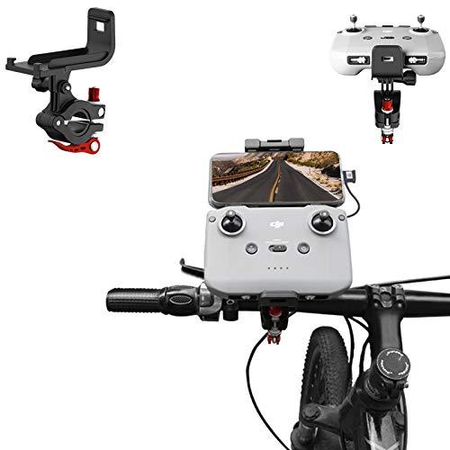 Owoda Soporte Bicicleta para Control Remoto Aleación de Aluminio Bike Holder de Mando a Distancia de Manillar Clip para dji Mavic Air 2 / Mavic Mini 2 Accesorios