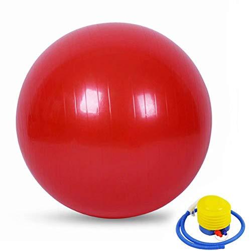 YANGHUI,Rot Ball Anti-Burst Gymnastikball,Rückenübungen und Dehnübungen,Sport Physiotherapie Schwangerschaft 35cm