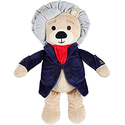 Vosego Ludwig Van Beethoven Virtuoso Bear   40 mins Classical Music for Babies   15? Award Winning Musical Soft Toy   Educational Toy for Infants Kids Adults