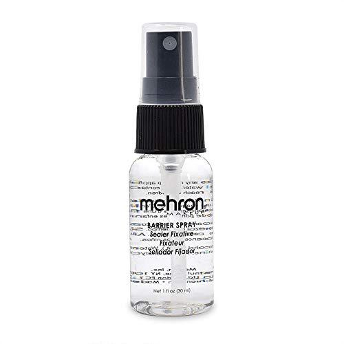 Mehron Barrier Spray - Makeup Sealer and Setting Spray (1 Ounce)