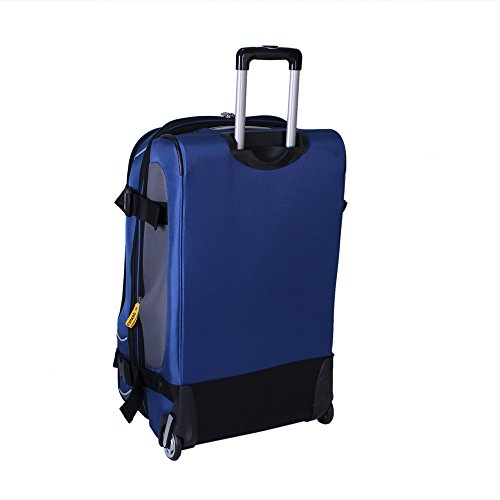 "Lucas Luggage Sport 29"" VPM Expandable Wheeled Upright Suitcase (29in, Blue)"